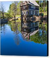 Blow Me Down Mill Cornish New Hampshire Canvas Print by Edward Fielding