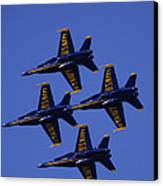 Blue Angels Canvas Print by Bill Gallagher