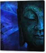 Blue Balance Canvas Print by Joachim G Pinkawa
