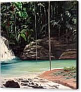 Blue Basin Canvas Print by Karin  Dawn Kelshall- Best