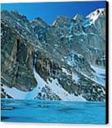 Blue Chasm Canvas Print by Eric Glaser