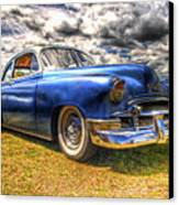 Blue Chevy Deluxe - Hdr Canvas Print by Phil 'motography' Clark