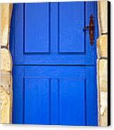 Blue Door Canvas Print by Frank Tschakert