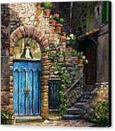 Blue Door Canvas Print by Tim Davis