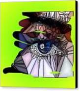 Blue Eye Canvas Print by HollyWood Creation By linda zanini