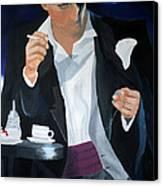 Blue Man Canvas Print by Eva-Maria Becker