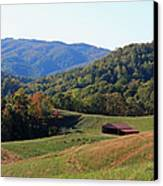 Blue Ridge Scenic Canvas Print by Suzanne Gaff