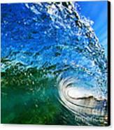 Blue Tube Canvas Print by Paul Topp