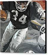 Bo Jackson Canvas Print by Don Medina