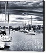 Boat Blues Canvas Print by John Rizzuto