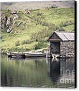 Boathouse Canvas Print by Jane Rix