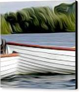 Boats Canvas Print by Stefan Petrovici