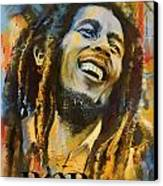 Bob Marley Canvas Print by Corporate Art Task Force