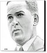 Bobby Jones Canvas Print by Pat Moore