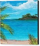 Boca Chica Beach Canvas Print by Anastasiya Malakhova