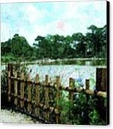 Boca Morikami Gardens Canvas Print by Florene Welebny