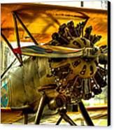 Boeing 100p Fighter Canvas Print by David Patterson