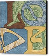 Bohemian Love Canvas Print by Debbie DeWitt
