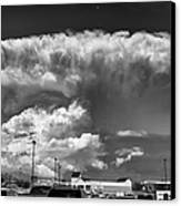 Boiling Sky Canvas Print by Trever Miller