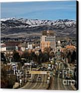 Boise Idaho Canvas Print by Robert Bales