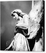Bokeh Angel In Infrared Canvas Print by Sonja Quintero