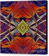 Boldness Of Color Canvas Print by Deborah Benoit
