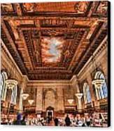 Book Heaven Canvas Print by Tony Ambrosio