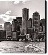 Boston Canvas Print by Olivier Le Queinec