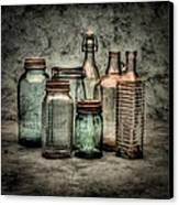 Bottles II Canvas Print by Timothy Bischoff