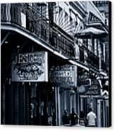 Bourbon Street New Orleans Canvas Print by Christine Till