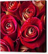 Boutique Roses Canvas Print by Garry Gay
