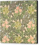 Bower Design Canvas Print by William Morris