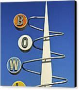 Bowl Sign Canvas Print by Matthew Bamberg