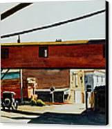 Box Factory Canvas Print by Edward Hopper