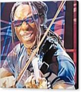 Boyd Tinsley And 2007 Lights Canvas Print by Joshua Morton
