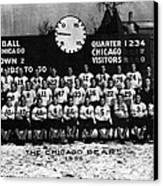 Chicago Football 1935 Canvas Print by Retro Images Archive