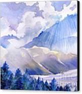Breakthrough Canvas Print by Reveille Kennedy