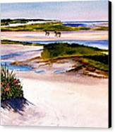 Brewster Ebb Tide Canvas Print by Karol Wyckoff