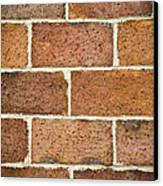 Brick Wall Canvas Print by Frank Tschakert