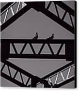 Bridge Abstract Canvas Print by Bob Orsillo
