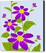 Bright Purple Canvas Print by Anastasiya Malakhova