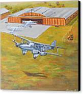 Brisbane Airport 1935 Canvas Print by Murray McLeod