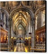 British Church Canvas Print by Adrian Evans