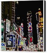 Broadway Canvas Print by Joan  Minchak