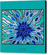 Broken Angel Blooms Canvas Print by Barbara St Jean