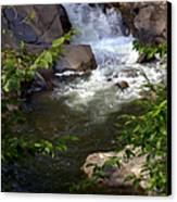 Brook Of Tranquility Canvas Print by Karen Wiles