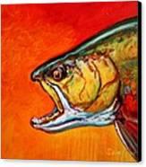 Brookie Portrait  Canvas Print by Savlen Art
