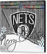 Brooklyn Nets Canvas Print by Joe Hamilton