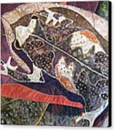 Brown Forest Toad Canvas Print by Lynda K Boardman