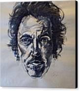 Bruce Springsteen Canvas Print by Dan Engh